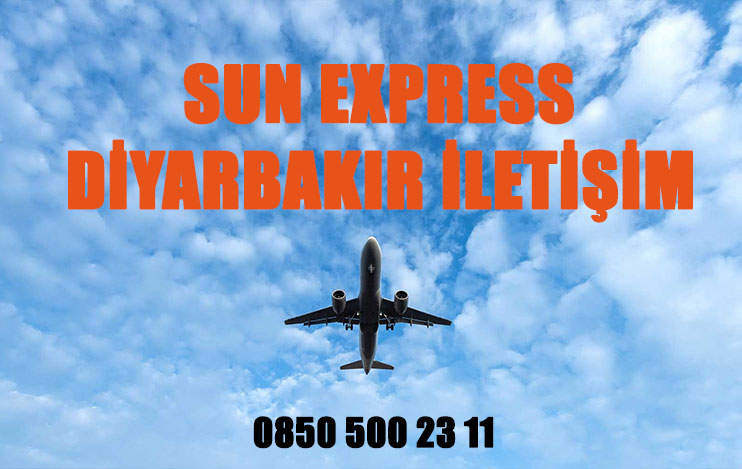 diyarbakır sun express uçak bileti iletişim