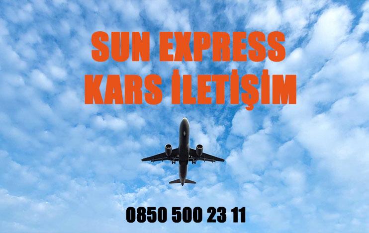 kars sun express uçak bileti iletişim
