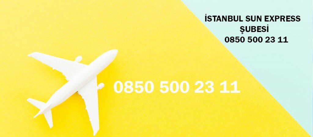 istanbul sun express satış noktaları