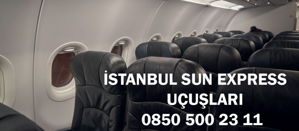 istanbul sun express uçuşları