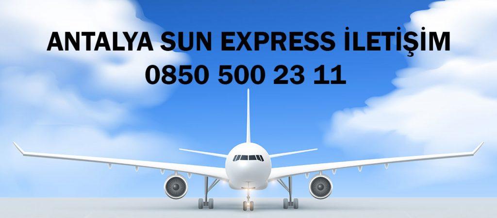 antalya sun express iletişim