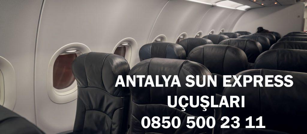 antalya sun express uçuşları