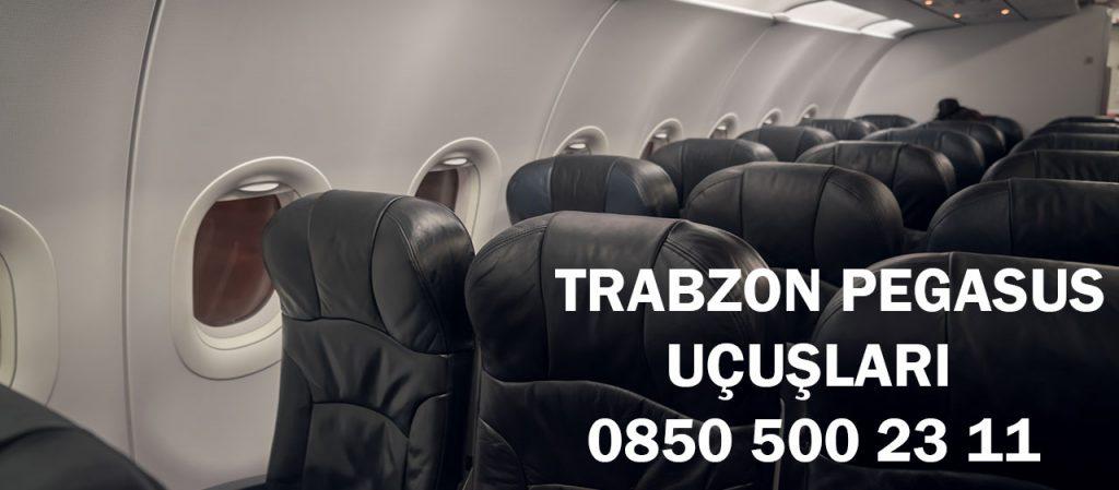 Trabzon Pegasus uçuşları